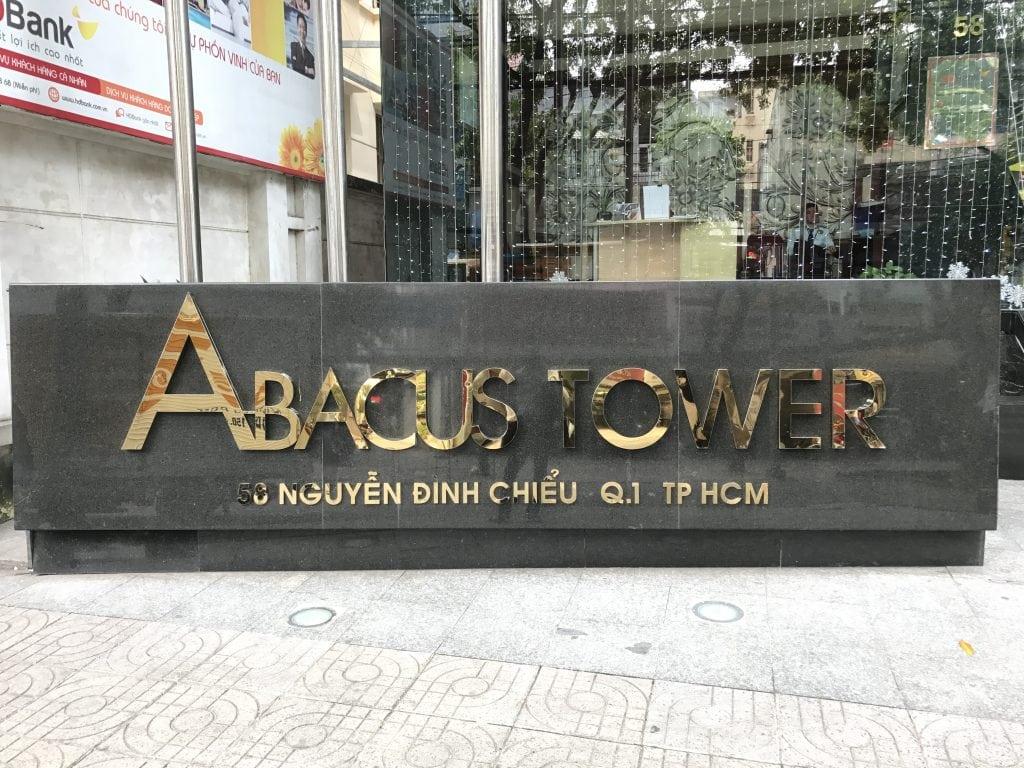 Tòa nhà Abacus - Tầng 11, tòa nhà Abacus, 58 Nguyễn Đình Chiểu, quận 1, TP.HCM.