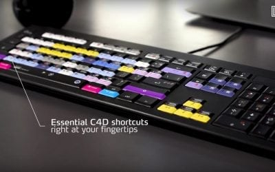 Thiết kế hiệu quả với Cinema 4D Keyboard