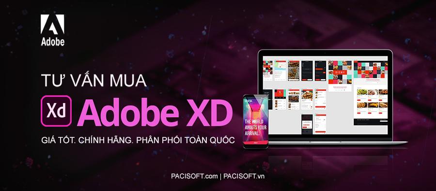 Tư vấn mua Adobe XD bản quyền