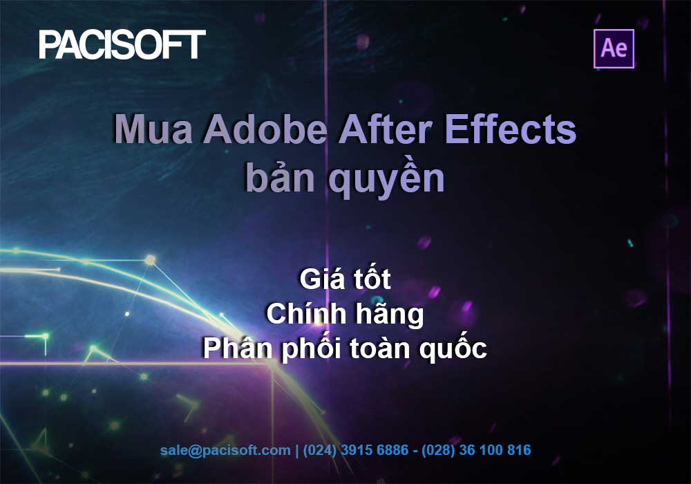 After Effects bản quyền