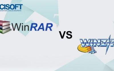 So sánh tính năng của WinRAR và WinZIP
