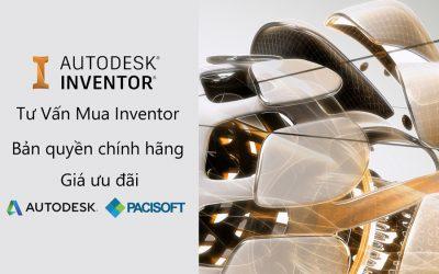 Tư vấn mua bán phần mềm Inventor bản quyền