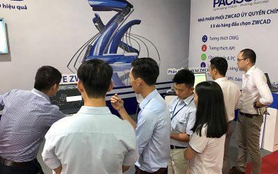 Phần mềm ZWCAD tham gia triển lãm MTA Vietnam 2018