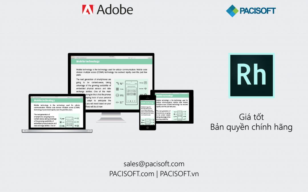 Tư vấn mua Adobe RoboHelp bản quyền
