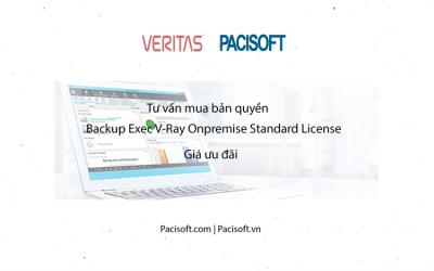 Tư vấn mua Backup Exec V-Ray Onpremise Standard License bản quyền