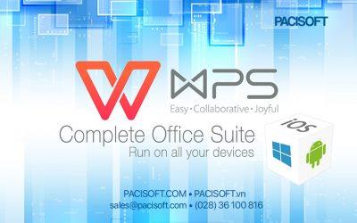 WPS – Bộ phần mềm văn phòng giá tốt cho doanh nghiệp