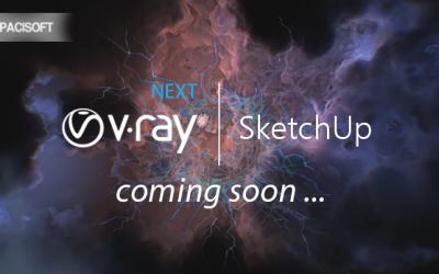 Thông báo Chaosgroup sắp phát hành V-Ray Next For SketchUp