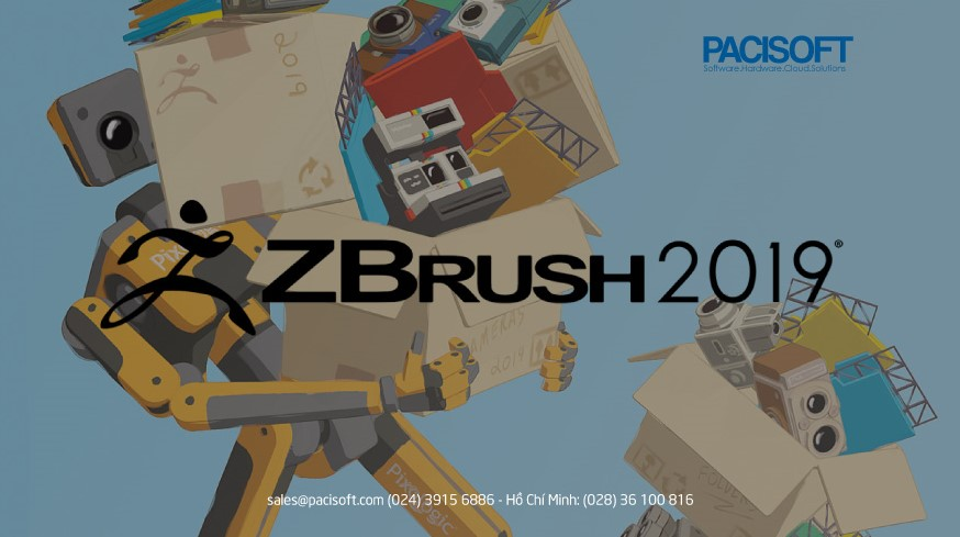 zbrush 2019 chính thức ra mắt