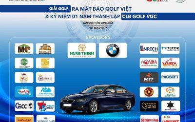 PACISOFT tham gia tài trợ giải Golf cho báo Golf Việt tổ chức