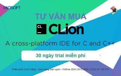Tư vấn mua phần mềm CLion bản quyền