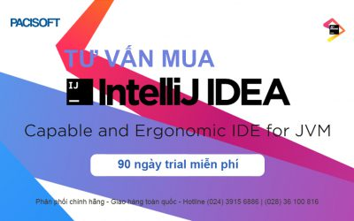 Tư vấn mua phần mềm IntelliJ IDEA bản quyền