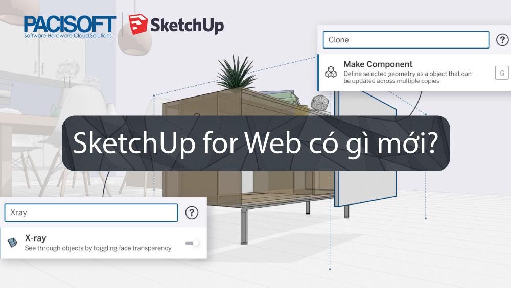 SketchUp for Web có gì mới?