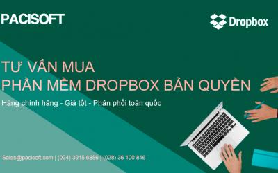 Tư vấn mua phần mềm Dropbox bản quyền