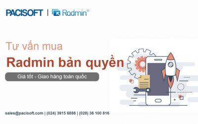 Tư vấn mua phần mềm Radmin bản quyền