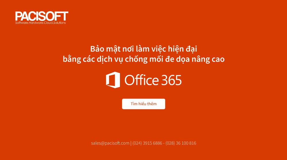 bảo mật office 365