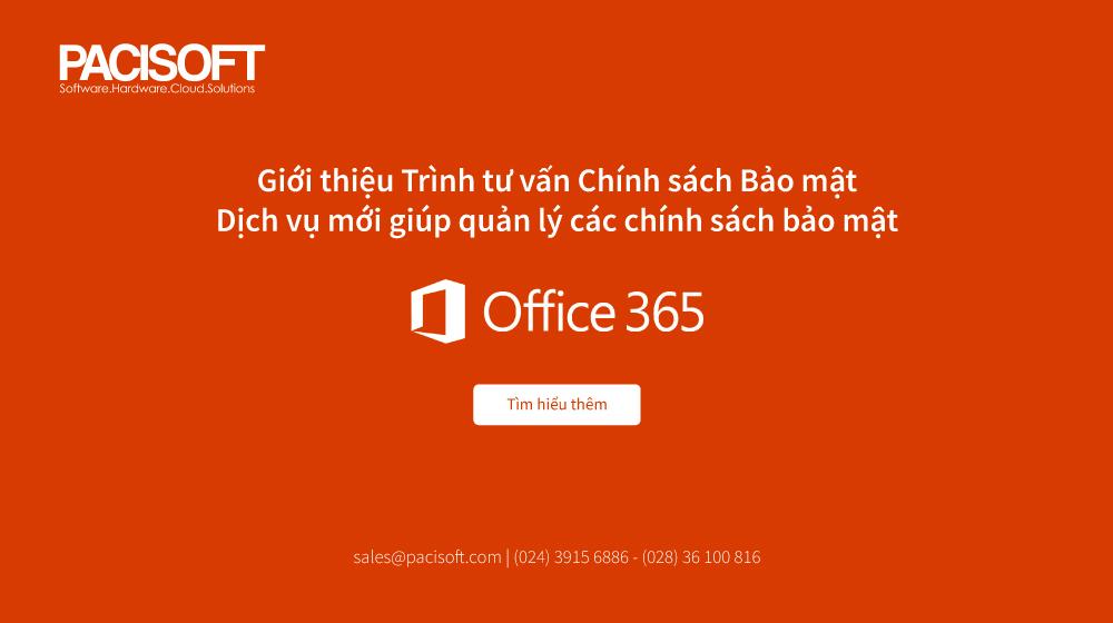 bảo mạt office 365