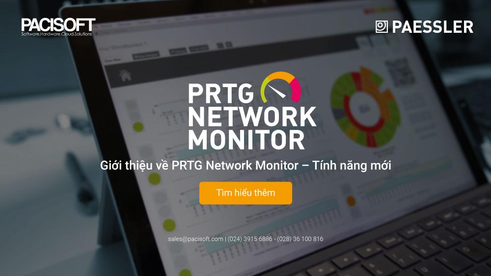 giới thiệu PRTG Network Monitor