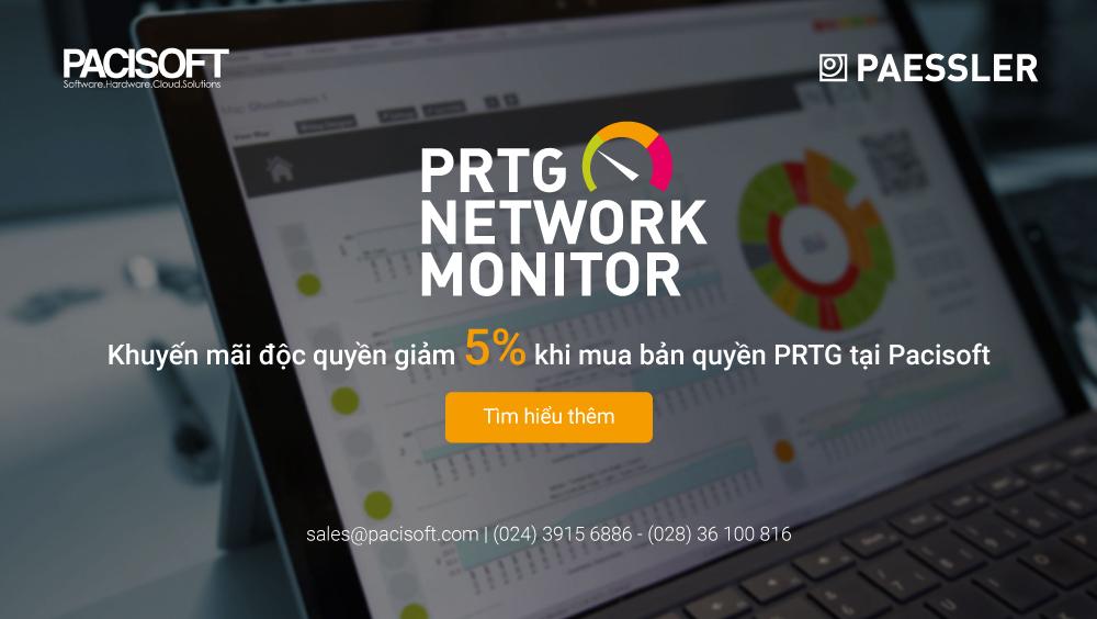 khuyến mãi PRTG