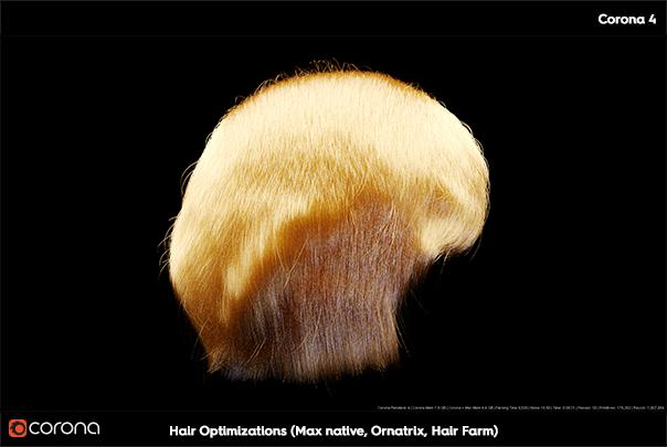 corona hair optimization