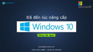Đã đến lúc nâng cấp Windows 10