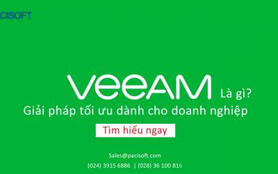 Veeam Backup là gì?   Giải pháp tối ưu dành cho doanh nghiệp