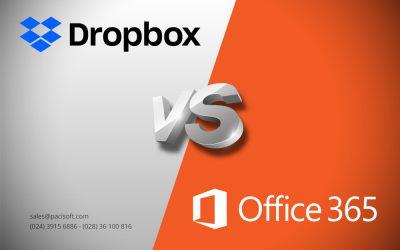 So sánh Office 365 với Box và Dropbox cho doanh nghiệp SMB