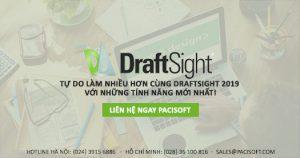 DraftSight 2019 - Tính năng nổi bật