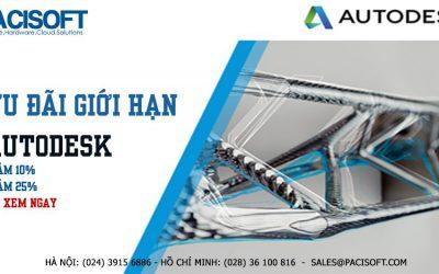 Cập nhật ngay những ưu đãi giới hạn của AutoDesk