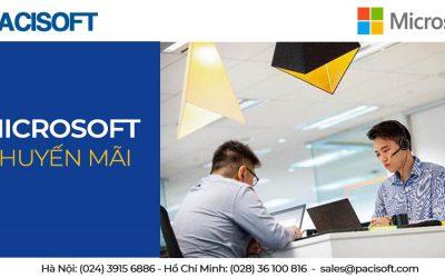 Khuyến mãi 10% khi mua bản quyền Microsoft ngay hôm nay