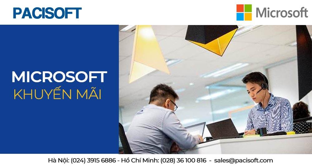 Chương trình khuyến mãi của Microsoft 2020