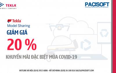 Tekla Model Sharing giảm giá 20% – Khuyến mại đặc biệt mùa Covid-19