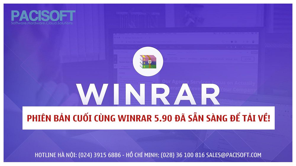Phiên bản cuối cùng WinRAR 5.90 đã sẵn sàng để tải về!