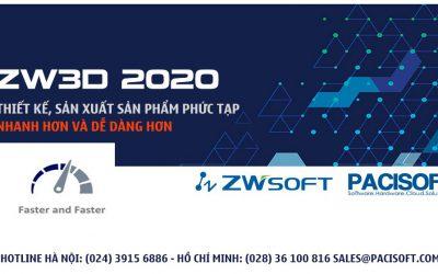 Biến mọi thiết kế trở nên dễ dàng và sáng tạo hơn với ZW3D 2020