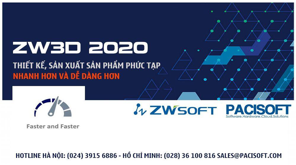 ZW3D 2020 - Thiết kế và sản xuất các sản phẩm phức tạp dễ dàng hơn