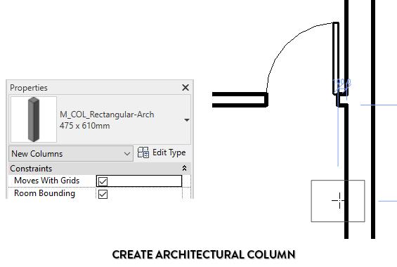 CREATE Architectural column