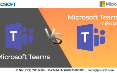 Sự khác biệt giữa Microsoft Teams và Microsoft Teams miễn phí