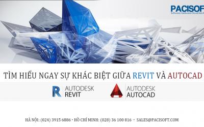 Tìm hiểu ngay Sự khác biệt giữa phần mềm Revit và AutoCAD