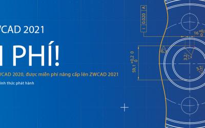 Khuyến mãi mua bản quyền ZWCAD từ ngày 1 tháng 6 năm 2020