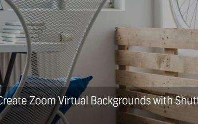 Cách tạo Zoom Virtual Backgrounds đơn giản với Shutterstock Editor