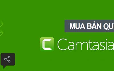 Techsmith Camtasia bản quyền – Mua ngay với giá ưu đãi