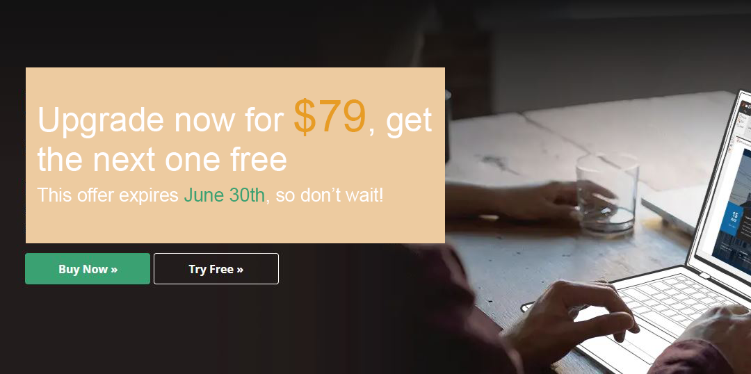 Nâng cấp ngay để nhân đôi năng suất làm việc bằng Nitro chỉ với $79!