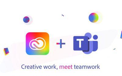 Adobe tích hợp với Microsoft Teams để làm việc từ xa
