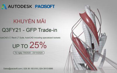 Chương trình khuyến mãi Autodesk Quý 3 từ ngày 7/8 – 23/10/2020