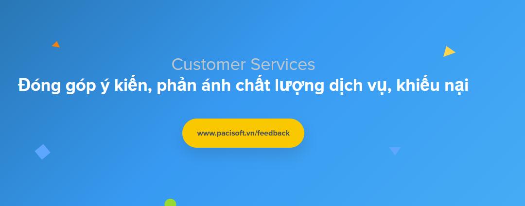 Tiếp nhận góp ý, phản hồi và khiếu nại từ khách hàng
