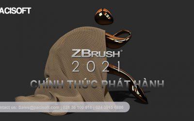 Phát hành phiên bản ZBrush 2021 có nhiều tính năng mới