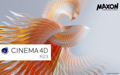 Maxon ra mắt phiên bản CINEMA 4D R23