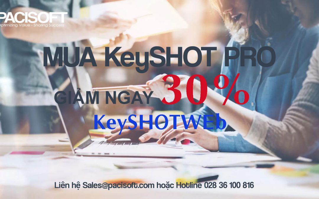 Khuyến mãi KeyShot tháng 9/2020 – Mua KeyShot Pro – Giảm giá 30% KeyShotWeb