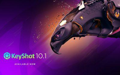Tính năng mới của Keyshot 10.1