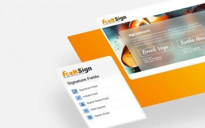 Foxit ra mắt Foxit Sign và Foxit PDF Editor 11