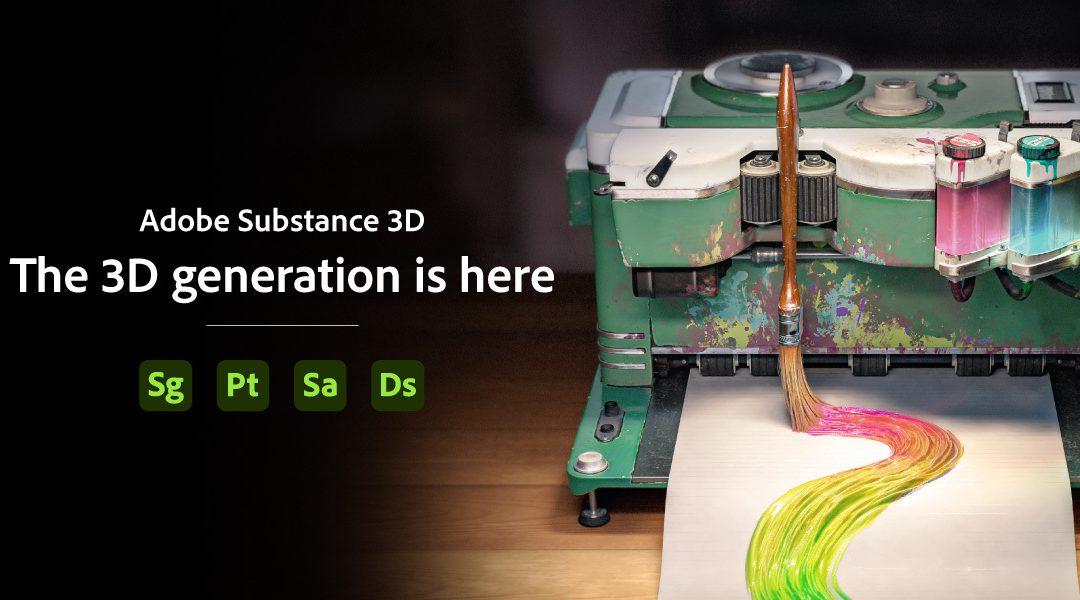 Adobe Substance là gì? Tìm hiểu Substance 3D trong hệ sinh thái Adobe